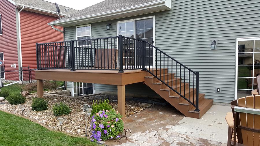 Home Exterior Railing Porch